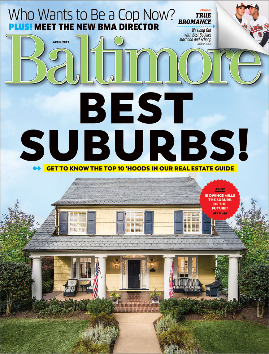 Baltimore Magazine Best Suburbs cover