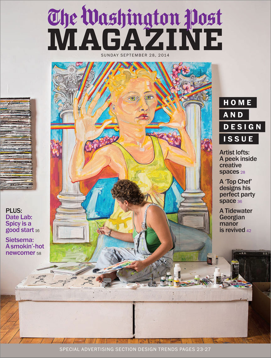 Washington Post Magazine Home and Design Issue cover