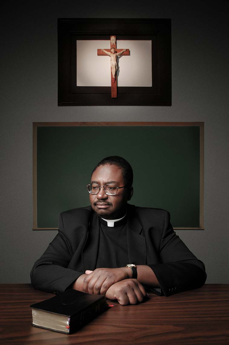Fr. Raymond Lee Harris, by Maryland photographer Mike Morgan
