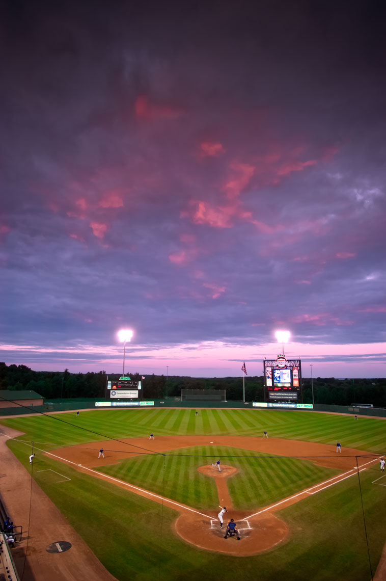 Ripken Stadium, Aberdeen Iron Birds, by sports photographer Mike Morgan