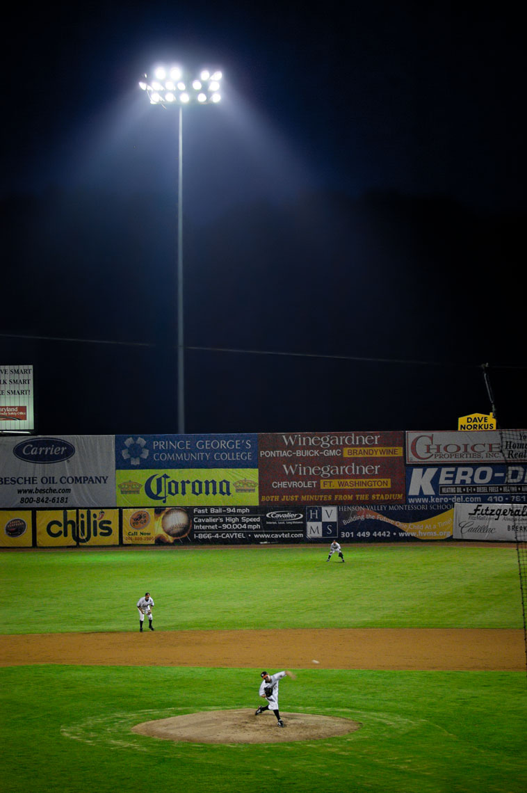 Bowie Baysox, sports photography by Mike Morgan.