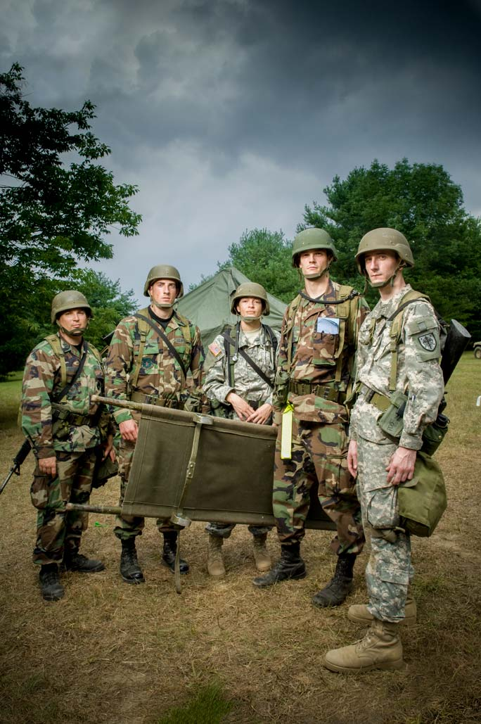 Operation Bushmaster, Uniformed Services University - Fort Indiantown Gap, PA