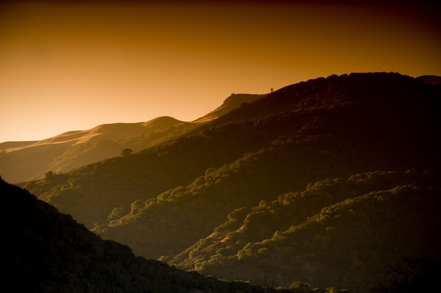 Carmel Valley by California landscape photographer Mike Morgan.