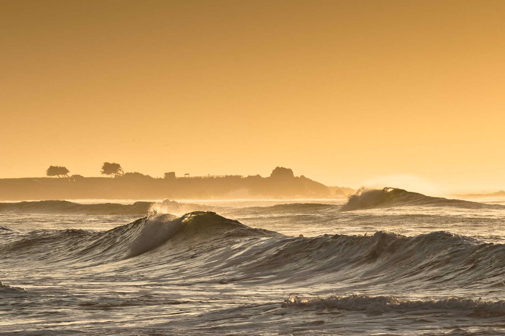Spanish Bay, by California landscape photographer Mike Morgan.