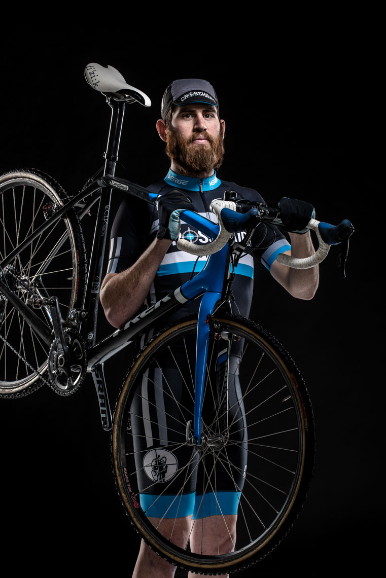 Team Crosshairs Cyclist Kevin Hays, by advertising photographer Mike Morgan