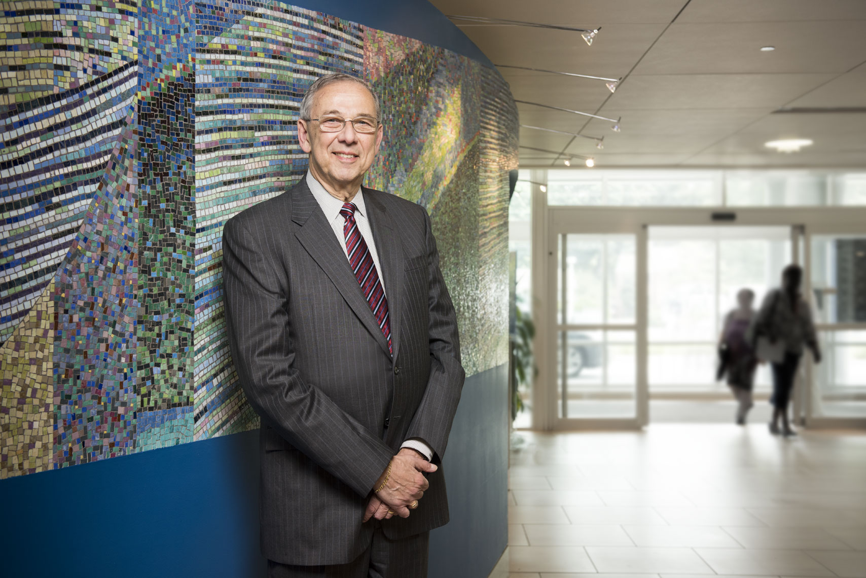 Dr. Ed Bersoff, by healthcare portrait photographer Mike Morgan