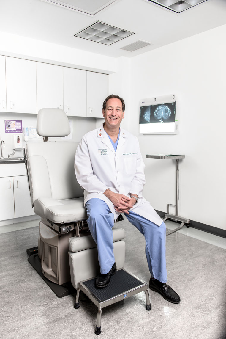 Dr. Neil Friedman, by healthcare photographer Mike Morgan