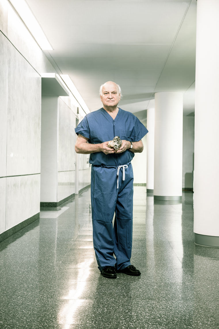 Dr. Duke Cameron, health care photography by Mike Morgan
