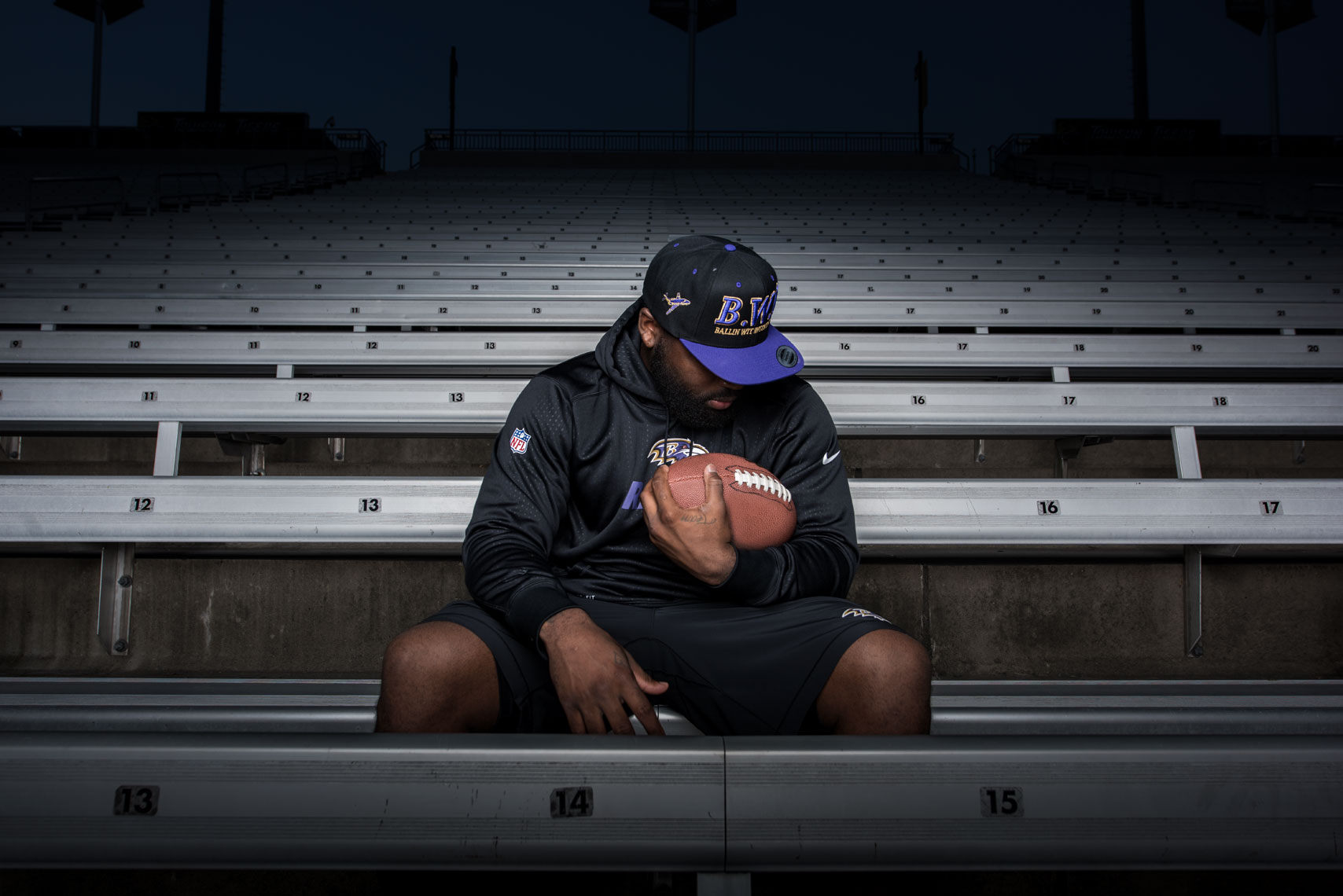 Terrance West, by sports photographer Mike Morgan