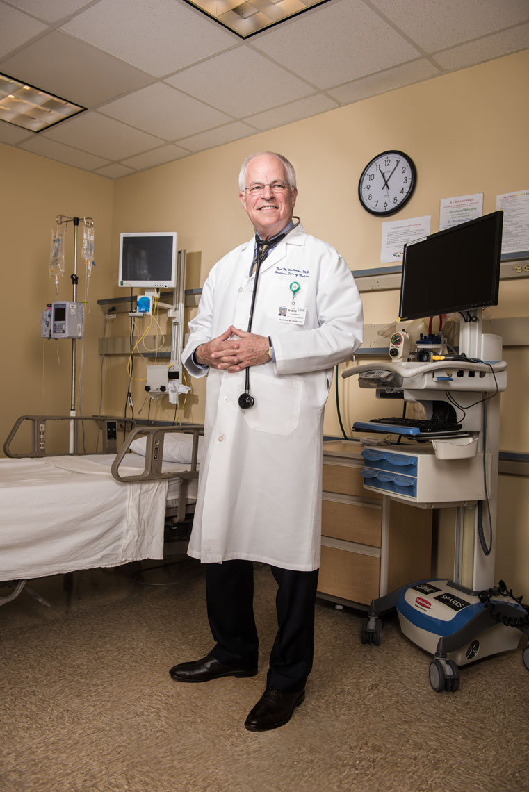 Dr. Neal Friedlander, health care photography by Mike Morgan