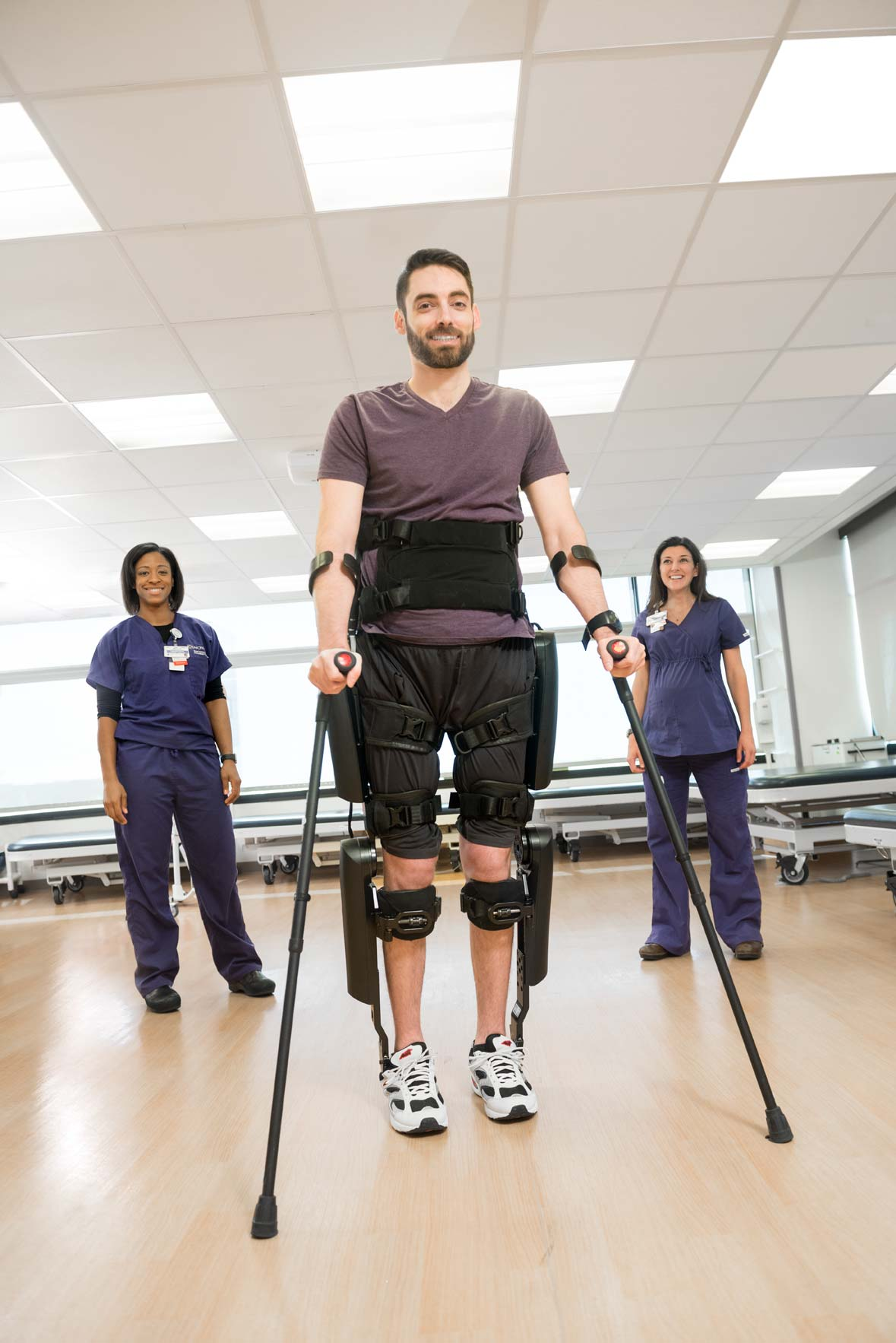 The ReWalk exoskeleton for INOVA