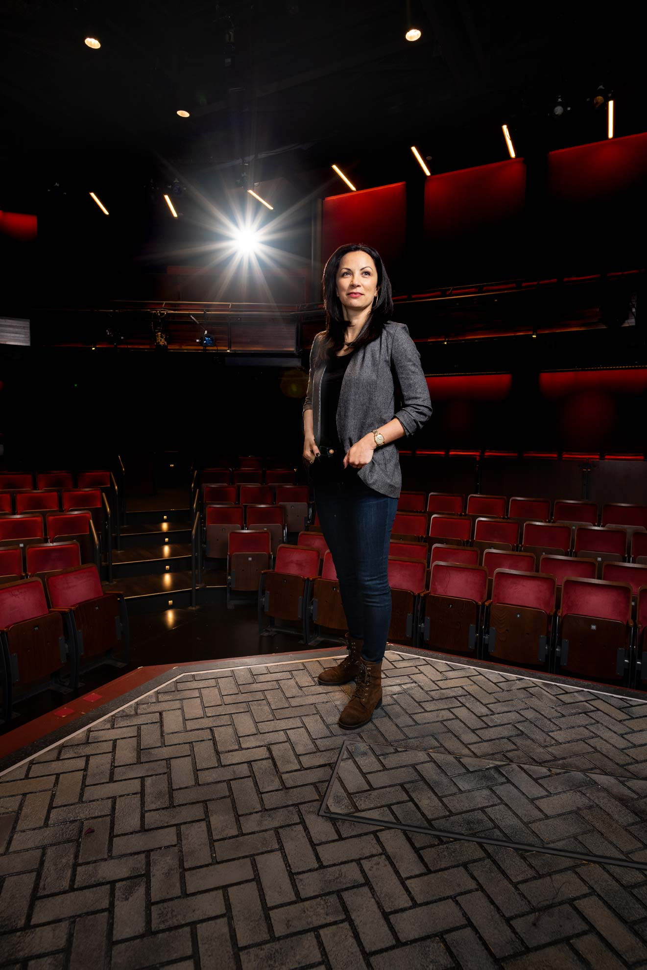 Baltimore Center Stage artistic director, Stephanie Ybarra