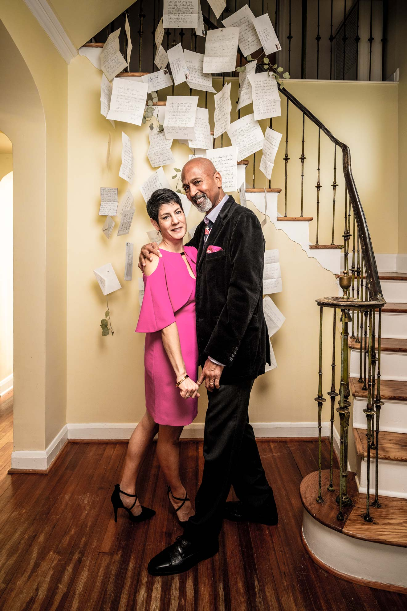 Nicole and Alonzo Lamont for Baltimore Magazine