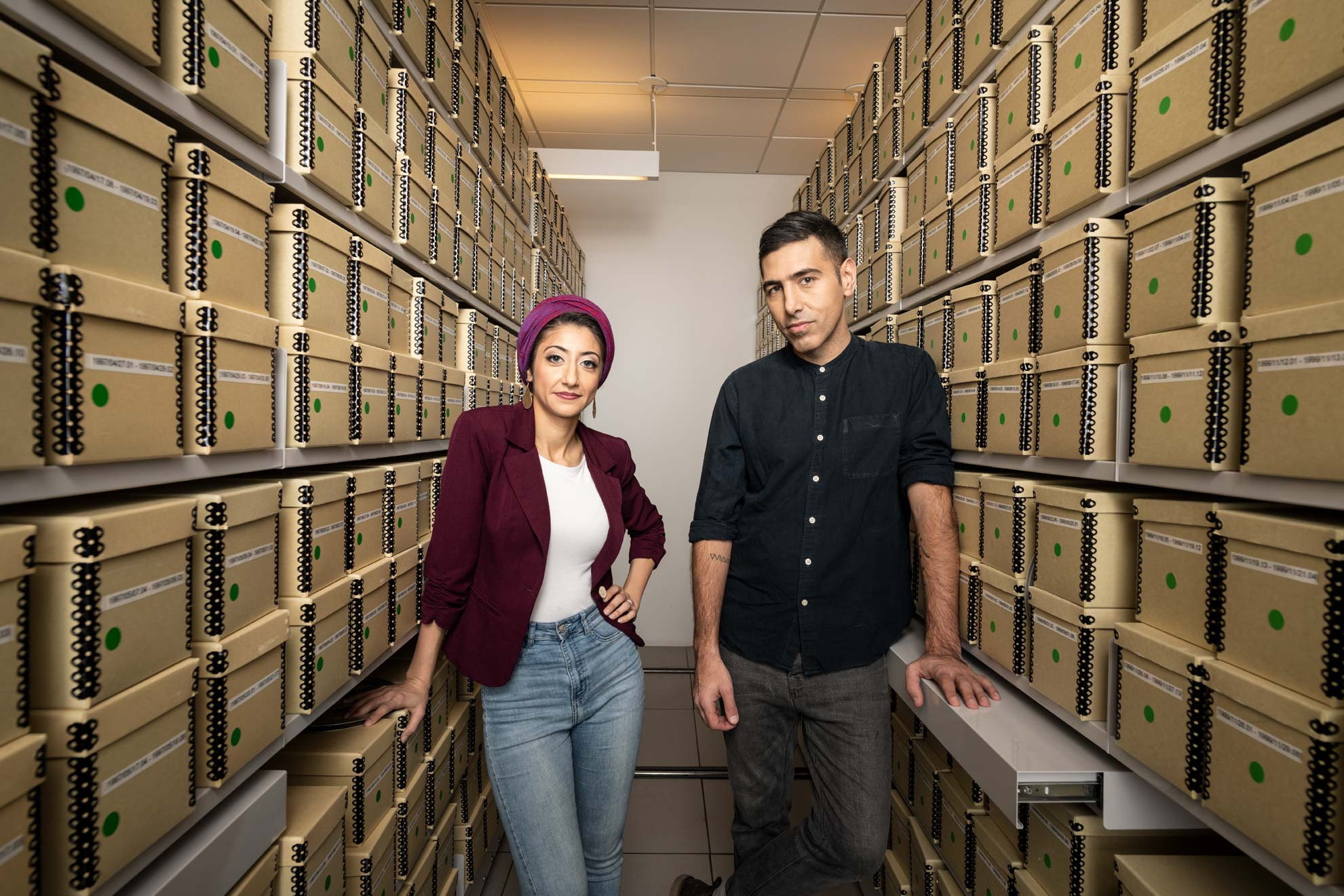 Rund Abdelfatah and Ramtin Arablouei, hosts of NPR