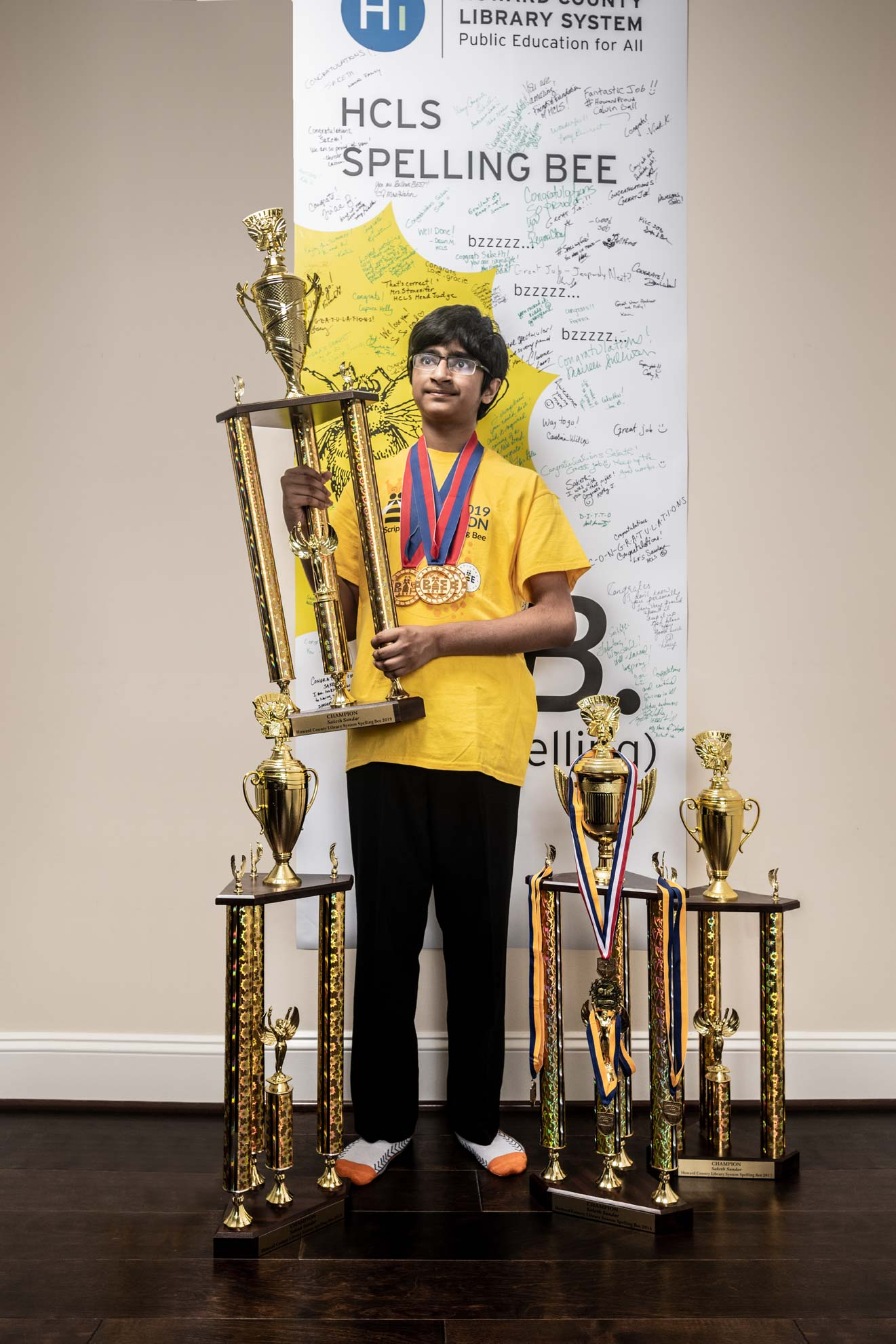 Scripps National Spelling Bee champion Saketh Sundar