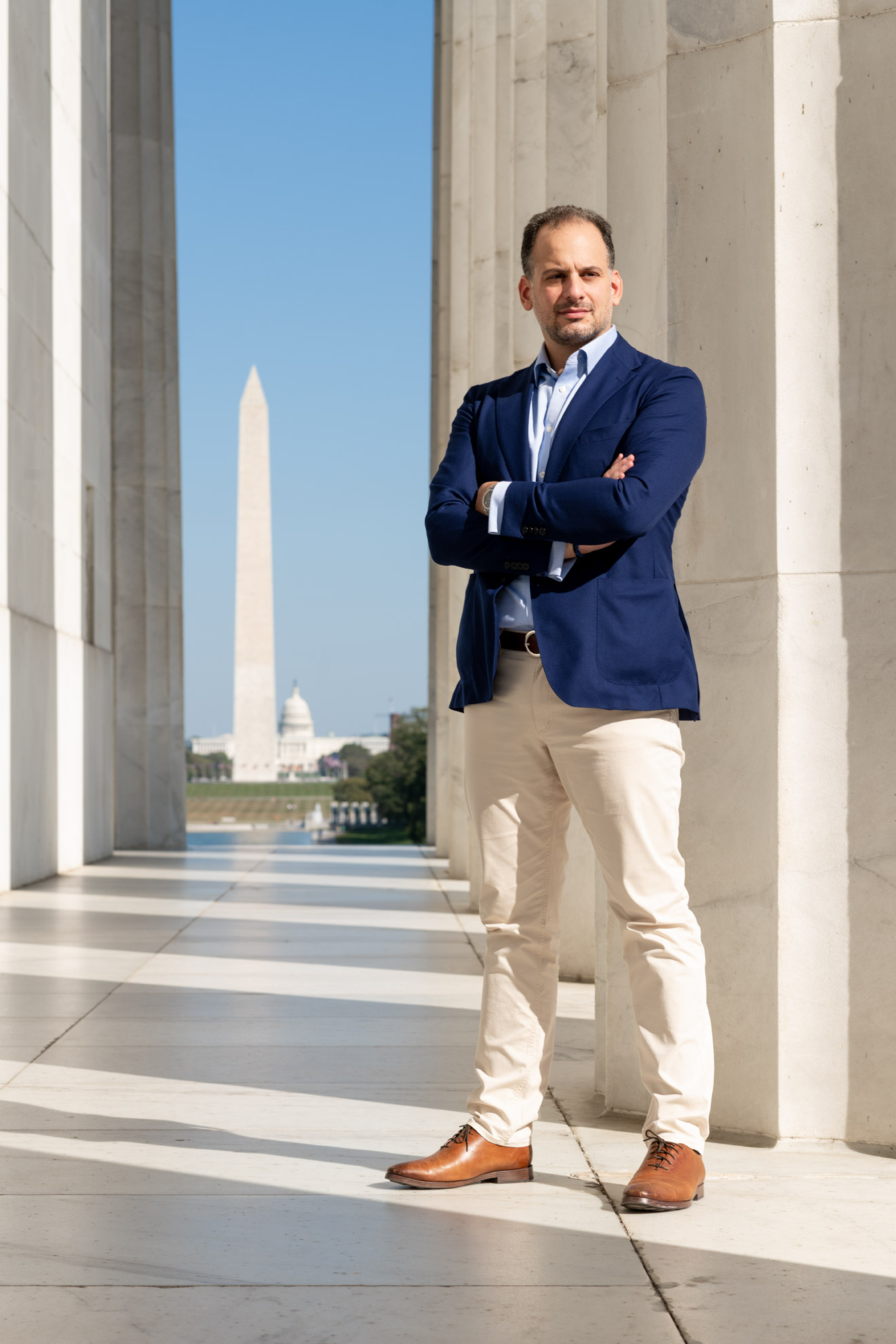 Nikolas Katsimpras, photographed 7 October 2020, in Washington DC.